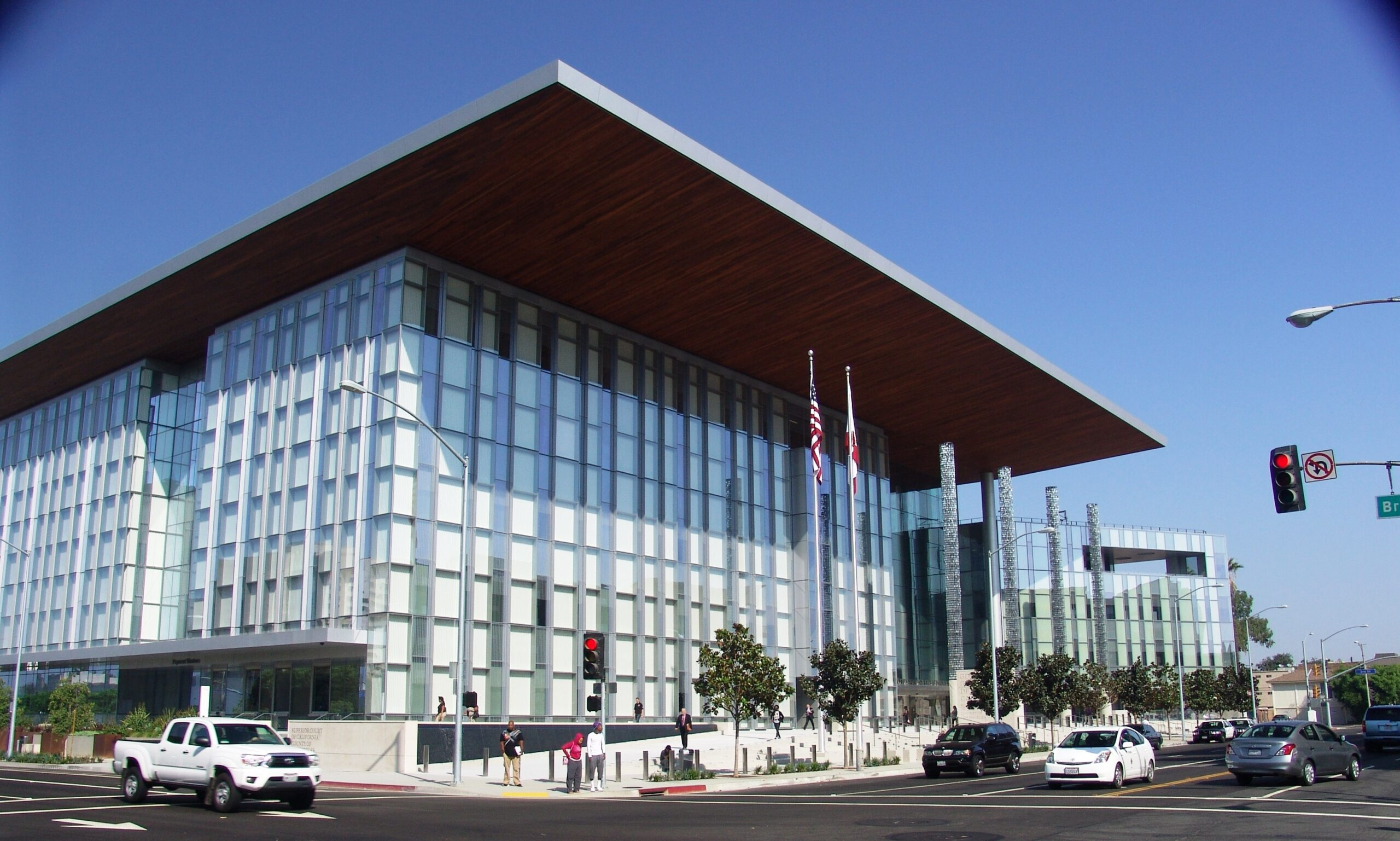 Long Beach Courthouse